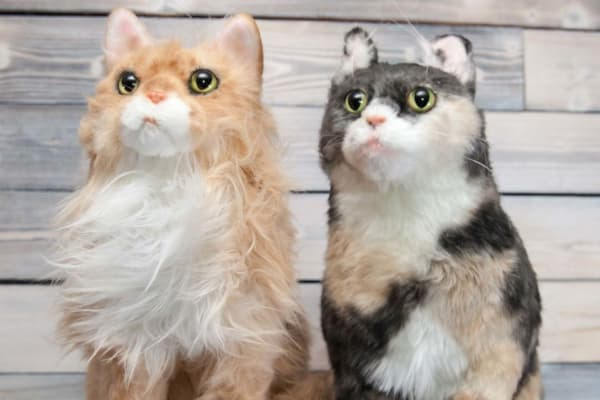 Custom Made Cat Stuffed Animal